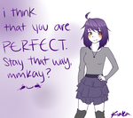 You are perfect, I promise by tiriii