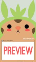 Chespin Journal Skin by Unaji