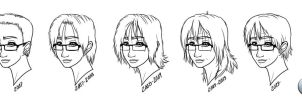 Sari's Hair Styles Through the Years [1L1] by Epe