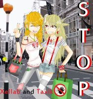 Taxik and Xellab ::Stop:: by Fiftyshadesofkay