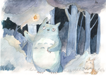 Totoro by Miko-to