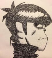 Murdoc Niccals Drawing by 3DGfan45321