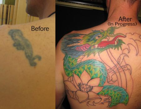 Dragon Cover up by madamelazonga