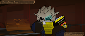 Sphongmo-17: secret Garrus by cabal-art