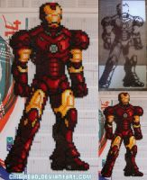 007 - Badass Iron Man by ChibiBead