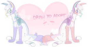 DRAW TO ADOPT [ENDED] by mafune