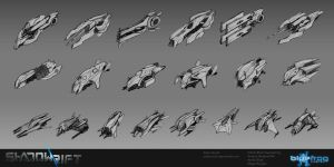 SR Ship Concepts by AdamRoush