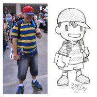 Ness Sketch by Banzchan