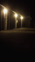 City Lights project Pic 1: Down the corridor by HardHeartedRedRabbit