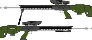 M08A1 7.62mmC Sniper Rifle by Tounushi