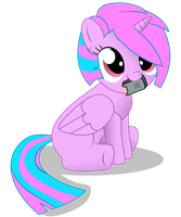 Unnamed Filly: Commish by AdmiralSerenity