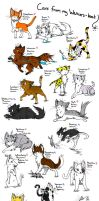 My WarriorCats by JazuNeon