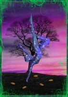 The Hanged Man by 1purplepixie