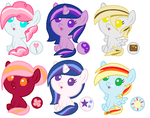 Mystery Shipping Adopts- Revealed- OPEN! by LittleSnowyOwl