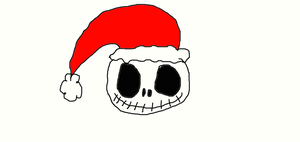 Jack with Santa hat by Simpsonsfanatic33