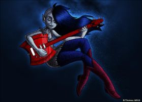 Marceline, the Vampire Queen by BThomas64