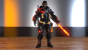 Custom Nanosuit by ironmanjae