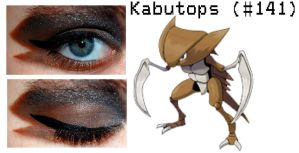 Pokemakeup 141 Kabutops by nazzara