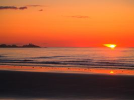 Sunrise at the Nubble 2 by davincipoppalag