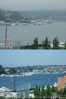 Lake Union and Bridge by Leathurkatt-TFTiggy