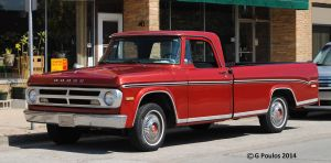 Vintage Dodge Pick-up 0123 9-7-14 by eyepilot13