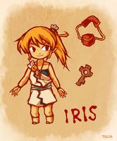 Legend of Zelda OC: Iris by tellie-tale