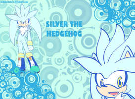 Silver The Hedgehog wallpaper by ManamiTheBest