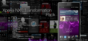 Xperia NXT Transformation pack v2 by ThilinaC