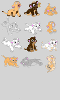 Name your Price Cubs Adoptable Moved Link Below by turtle9334