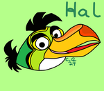 Hal Boomerang Bird Redesigned by CooperGal24