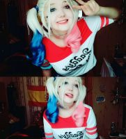 Harley Quinn cosplay/ suicide squad by TMPwong