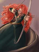 Merida_BRAVE progress by pandatails