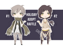 Holiday Adopt Raffle! [CLOSED - WINNERS ARE FOUND] by Chewsome
