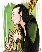 Lucky to see me huh Loki by crystalbullet