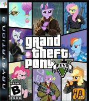 grand theft pony v by pewdiedash