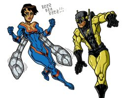 Wasp and Yellowjacket by Zircules