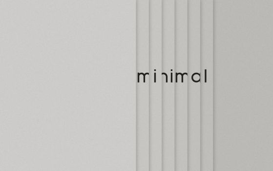Minimal Wallpaper by coroners