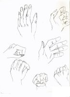 lots of hands by electricjesuscorpse