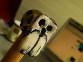 Cane handle prototype 1 by Infernomonster
