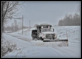 Snow Truck by redapex