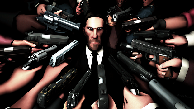 John Wick chapter 2 by Dimitri9511