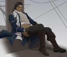 Commission:Captain Connor by doubleleaf