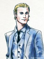 Chris Hemsworth - Suit Up by riotfaerie