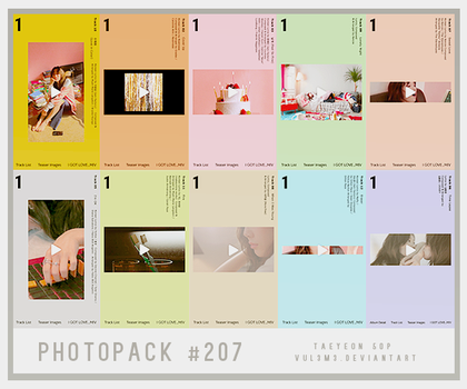 #207 PHOTOPACK-TaeYeon by vul3m3