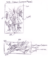 Dragon Capstone - concept sketch - Empyrisan by SEMC