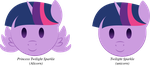 Ponymoji Twilight Sparkle by illumnious