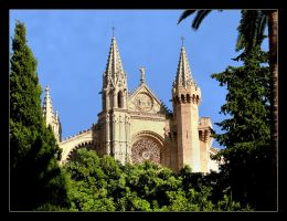Cathedral In Palma - Mallorca by skarzynscy