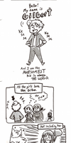 APH: Hello, my name is Gilbert by BearWithGlasses