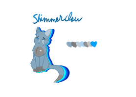 Shimmerclaw (design ref) by Featherwishes