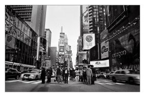 Hey look, here's Time Square by baleze